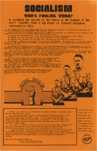 thumbnail-of-Poster -- Socialism, Who's Fooling Whom, 1920 NAZI Platform